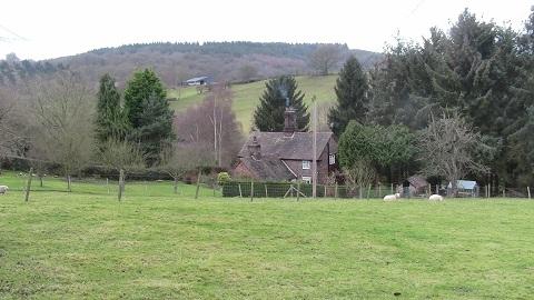 Walking in Shropshire - Linley view - walking & wine