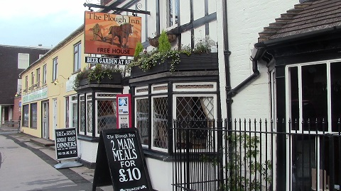 Walking in Shropshire - Plough Inn - walking & wine