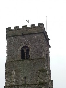 walking in shropshire - wenlock church - walking & wine